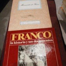 Libros de segunda mano: FRANCO. LA HISTORIA Y SUS DOCUMENTOS. . Lote 148104362