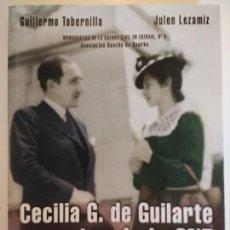 Libros de segunda mano: CECILIA G. DE GUILARTE REPORTER DE LA CNT. TABERNILLA Y LEZAMIZ GUERRA EUSKADI ASTURIAS FRENTE NORTE. Lote 148669762