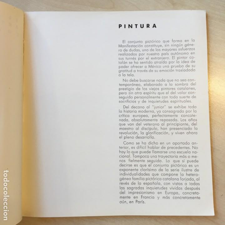 Libros de segunda mano: ESPAÑA A MÉXICO; MANIFESTACIÓN DE ARTE CATALÁN PRO VICTIMAS DEL FASCISMO, 1937. Ferran Teixidor - Foto 2 - 149805278
