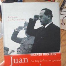 Libros de segunda mano: JUAN NEGRIN, LA REPUBLICA EN GUERRA, ED. TEMAS DE HOY, 2003. Lote 150351230