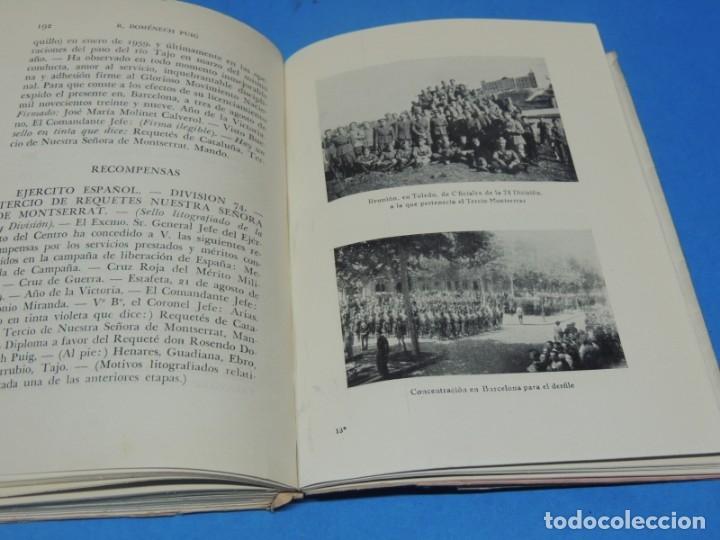 Libros de segunda mano: DIARIO DE CAMPAÑA DE UN REQUETÉ.-R.DOMENECH PUIG - Foto 8 - 150713878