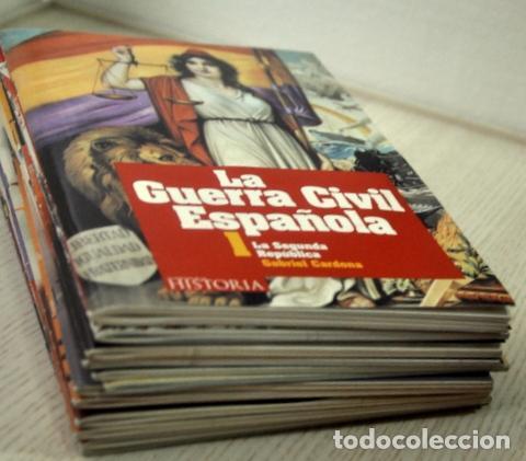 LA GUERRA CIVIL ESPAÑOLA - CARDONA, GABRIEL. (12 LIBROS CON DVD) (Libros de Segunda Mano - Historia - Guerra Civil Española)