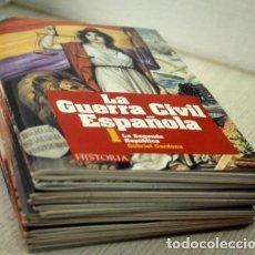 Libros de segunda mano: LA GUERRA CIVIL ESPAÑOLA - CARDONA, GABRIEL. (12 LIBROS CON DVD). Lote 153063653