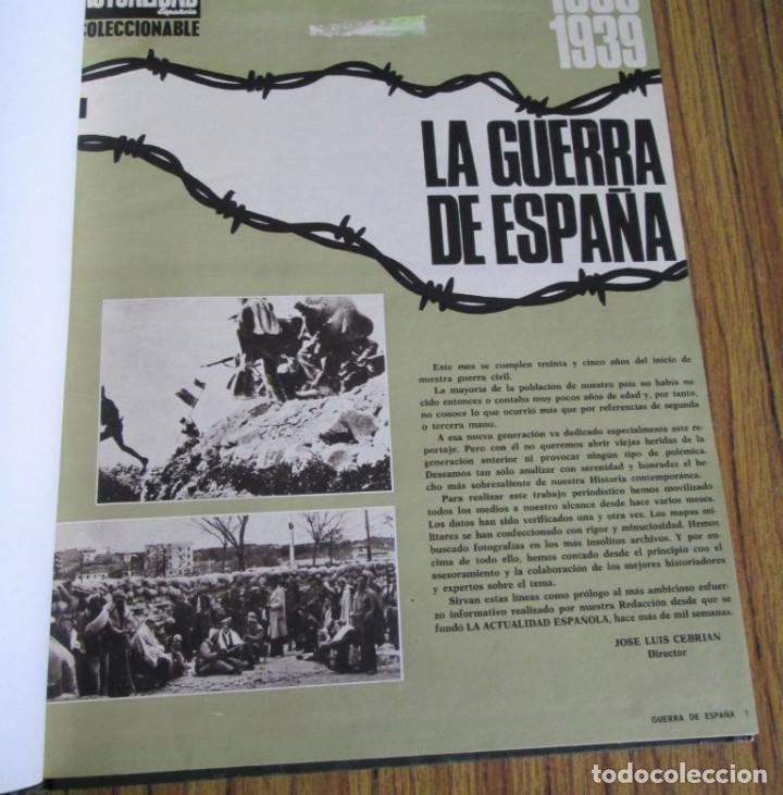LA ACTUALIDAD ESPAÑOLA 1936 – 1939 // LA GUERRA DE ESPAÑA // COLECCIONABLES - COMPLETA (Libros de Segunda Mano - Historia - Guerra Civil Española)