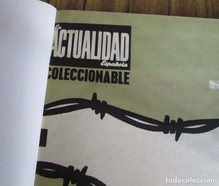 Libros de segunda mano: LA ACTUALIDAD ESPAÑOLA 1936 – 1939 // la guerra de España // Coleccionables - completa - Foto 2 - 151461798