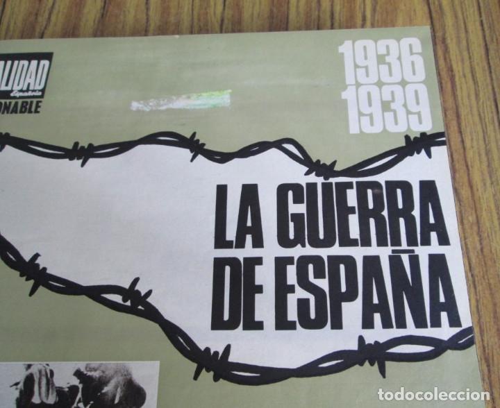 Libros de segunda mano: LA ACTUALIDAD ESPAÑOLA 1936 – 1939 // la guerra de España // Coleccionables - completa - Foto 3 - 151461798