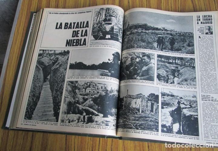 Libros de segunda mano: LA ACTUALIDAD ESPAÑOLA 1936 – 1939 // la guerra de España // Coleccionables - completa - Foto 5 - 151461798