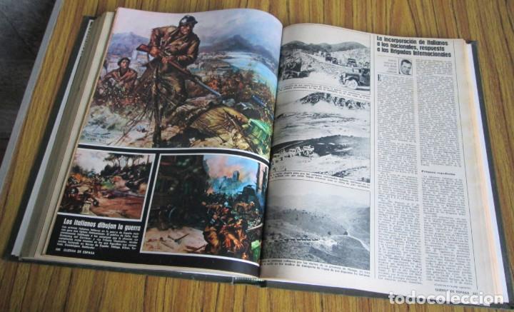 Libros de segunda mano: LA ACTUALIDAD ESPAÑOLA 1936 – 1939 // la guerra de España // Coleccionables - completa - Foto 6 - 151461798
