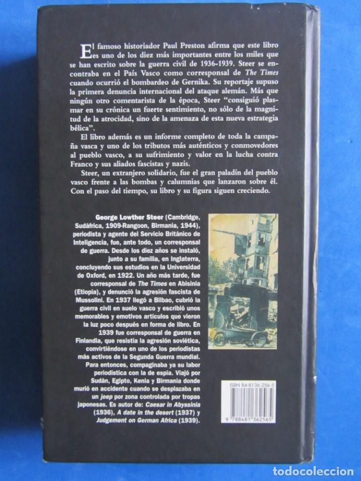 Libros de segunda mano: El arbol de Gernika. Un ensayo sobre la guerra... George L. Steer. Guerra civil Pais Vasco Euskadi - Foto 2 - 151526766