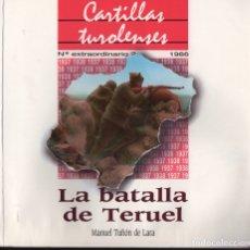 Libros de segunda mano: LA BATALLA DE TERUEL. Lote 151616692