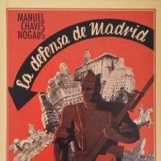 Libros de segunda mano: LA DEFENSA DE MADRID. Lote 152084926