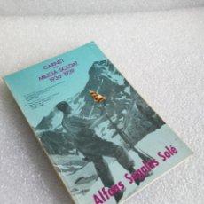 Libros de segunda mano - CARNET D'UN MILICIA SOLDAT 1936-1939, ALFONS SEGALES SOLE, EDITORIAL PORTIC, 1986 - 152322646