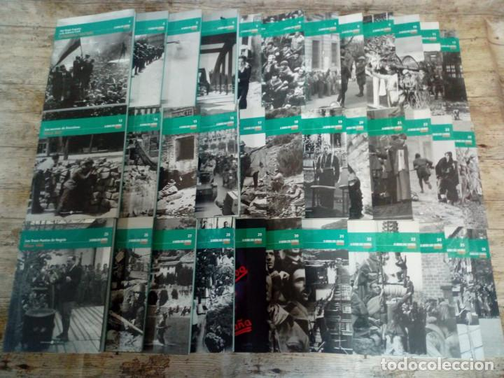 Libros de segunda mano: LA GUERRA CIVIL ESPAÑOLA. MES A MES. COLECCIÓN COMPLETA: 36 TOMOS - Foto 2 - 152329382