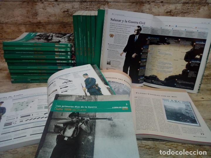 Libros de segunda mano: LA GUERRA CIVIL ESPAÑOLA. MES A MES. COLECCIÓN COMPLETA: 36 TOMOS - Foto 3 - 152329382