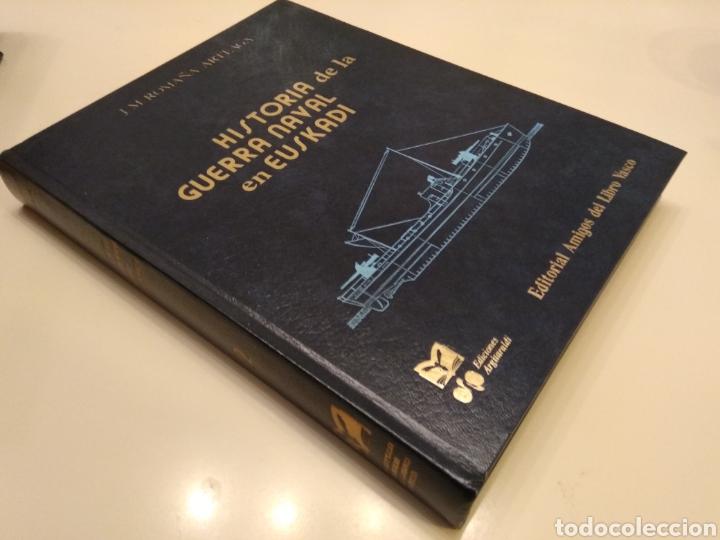 Libros de segunda mano: HISTORIA DE LA GUERRA NAVAL EN EUSKADI PAIS VASCO GUERRA CIVIL 6 TOMOS OBRA COMPLETA - Foto 5 - 152494076