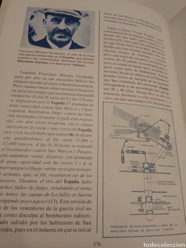 Libros de segunda mano: HISTORIA DE LA GUERRA NAVAL EN EUSKADI PAIS VASCO GUERRA CIVIL 6 TOMOS OBRA COMPLETA - Foto 6 - 152494076