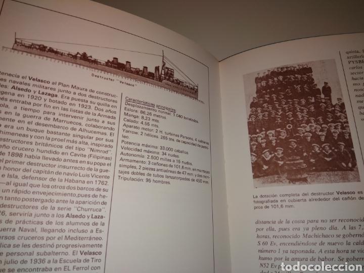 Libros de segunda mano: HISTORIA DE LA GUERRA NAVAL EN EUSKADI PAIS VASCO GUERRA CIVIL 6 TOMOS OBRA COMPLETA - Foto 9 - 152494076