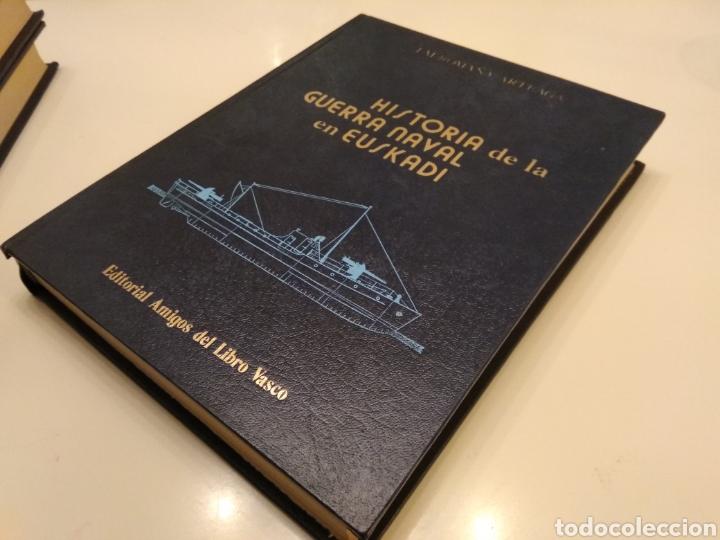 Libros de segunda mano: HISTORIA DE LA GUERRA NAVAL EN EUSKADI PAIS VASCO GUERRA CIVIL 6 TOMOS OBRA COMPLETA - Foto 10 - 152494076