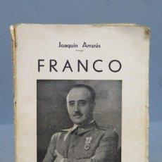 Libros de segunda mano: 1938.- FRANCO. JOAQUIN ARRARAS. Lote 153400378
