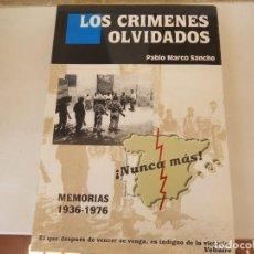 Libros de segunda mano: LOS CRIMENES OLVIDADOS. Lote 154393174