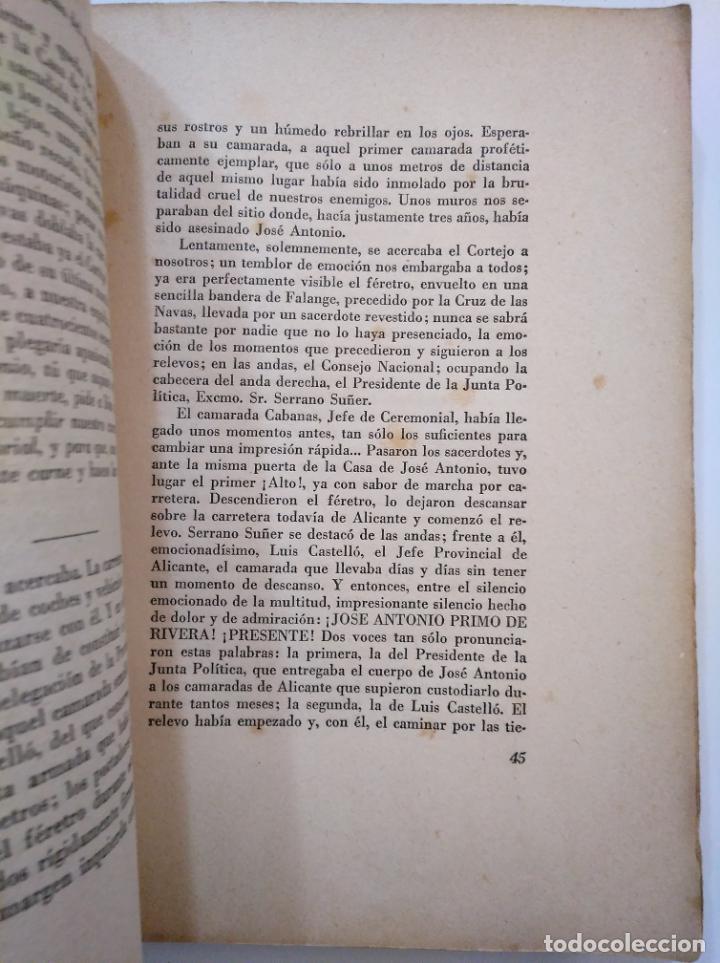 Libros de segunda mano: A HOMBROS DE LA FALANGE. DE ALICANTE A EL ESCORIAL. SAMUEL ROS.- ANTONIO BOUTHELIER. TDK374 - Foto 2 - 154677786