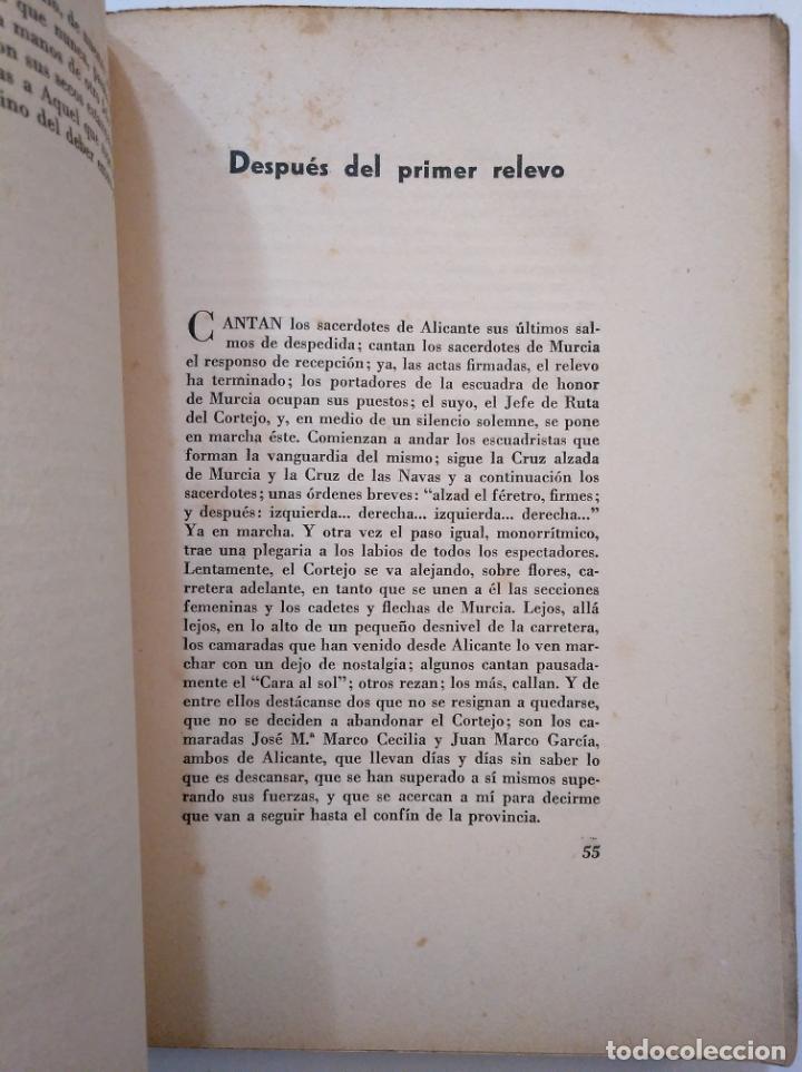 Libros de segunda mano: A HOMBROS DE LA FALANGE. DE ALICANTE A EL ESCORIAL. SAMUEL ROS.- ANTONIO BOUTHELIER. TDK374 - Foto 3 - 154677786
