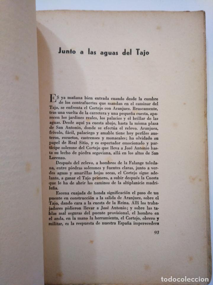 Libros de segunda mano: A HOMBROS DE LA FALANGE. DE ALICANTE A EL ESCORIAL. SAMUEL ROS.- ANTONIO BOUTHELIER. TDK374 - Foto 4 - 154677786