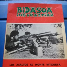 Libros de segunda mano: LOS ASLTOS AL MONTE INTXORTA. Lote 196499471