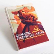 Libros de segunda mano: PARACUELLOS-KATYN UN ENSAYO SOBRE EL GENOCIDIO DE LA IZQUIERDA. VIDAL. CESAR. Lote 155137782