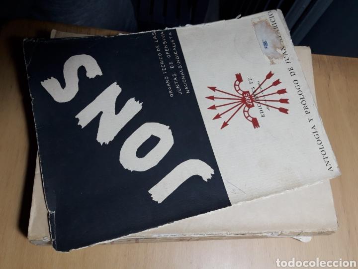 Libros de segunda mano: JONS. ( ORGANO TEÓRICO DE LAS JUNTAS DE OFENSIVA NACIONAL SINDICALISTA ) 1939 - Foto 3 - 156003508