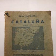 Libros de segunda mano: GUÍA TELEFÓNICA DE CATALUÑA DURANTE LA GUERRA CIVIL. Lote 156659073