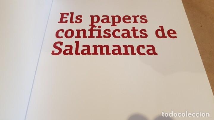 Libros de segunda mano: ELS PAPERS CONFISCATS DE SALAMANCA. ED / SAPIENS PUBLICACIONS / EL PERIÓDICO - 2006. A ESTRENAR. - Foto 2 - 157233070