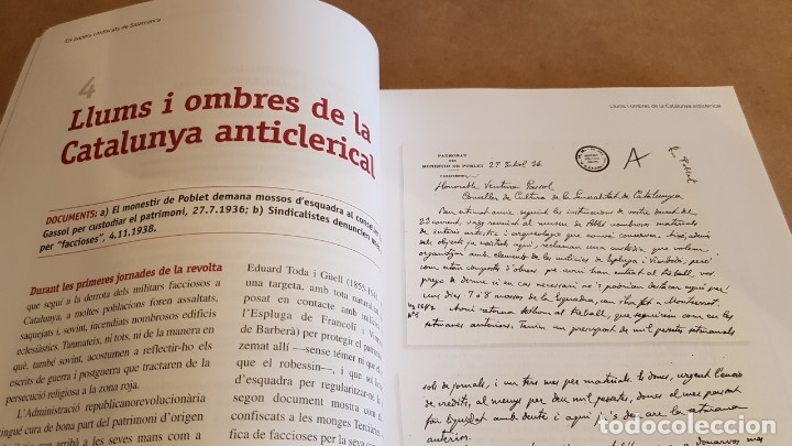 Libros de segunda mano: ELS PAPERS CONFISCATS DE SALAMANCA. ED / SAPIENS PUBLICACIONS / EL PERIÓDICO - 2006. A ESTRENAR. - Foto 6 - 157233070