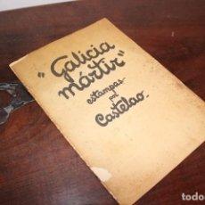 Libros de segunda mano: GALICIA MARTIR. CASTELAO. MINISTERIO DE PROPAGANDA. Lote 157872042