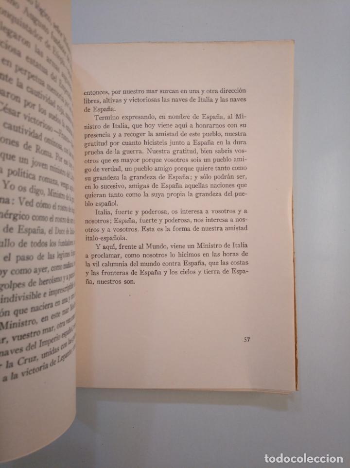 Libros de segunda mano: DE LA VICTORIA Y LA POSTGUERRA. (DISCURSOS) - SERRANO SUÑER, RAMÓN. 1941. TDKLT - Foto 2 - 158730194