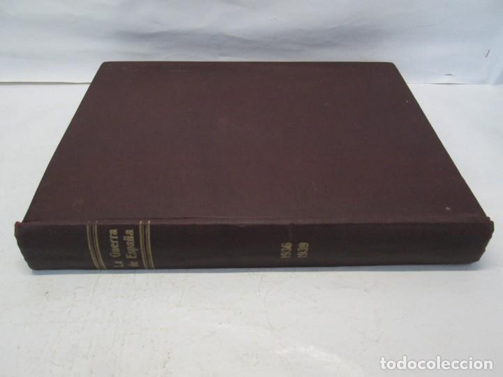 Libros de segunda mano: LA GUERRA DE ESPAÑA 1936 -1939. JOSE LUIS CEBRIAN. COLECCIONABLE 59 FASCILULOS.COMPLETA - Foto 2 - 159275102