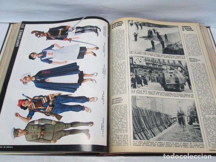 Libros de segunda mano: LA GUERRA DE ESPAÑA 1936 -1939. JOSE LUIS CEBRIAN. COLECCIONABLE 59 FASCILULOS.COMPLETA - Foto 14 - 159275102