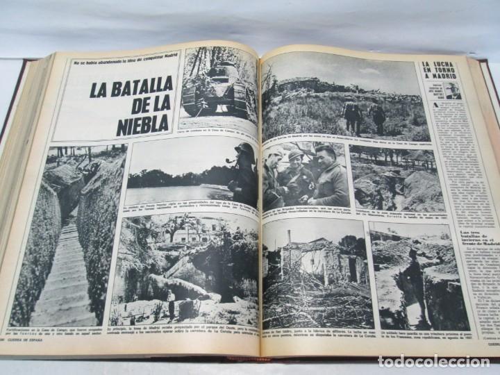 Libros de segunda mano: LA GUERRA DE ESPAÑA 1936 -1939. JOSE LUIS CEBRIAN. COLECCIONABLE 59 FASCILULOS.COMPLETA - Foto 16 - 159275102