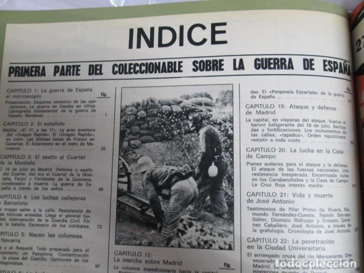Libros de segunda mano: LA GUERRA DE ESPAÑA 1936 -1939. JOSE LUIS CEBRIAN. COLECCIONABLE 59 FASCILULOS.COMPLETA - Foto 22 - 159275102