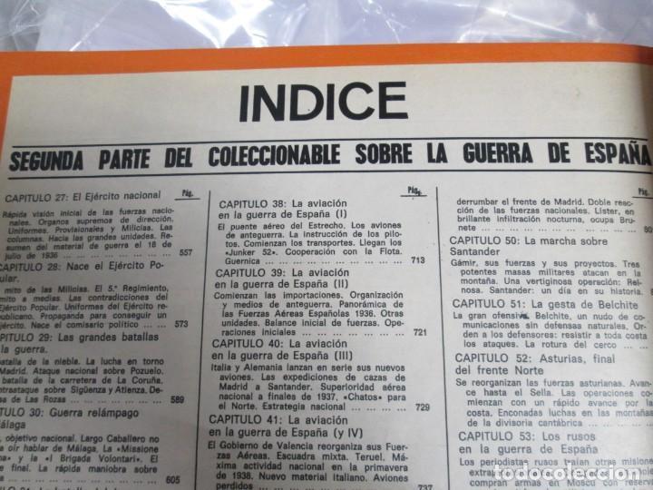 Libros de segunda mano: LA GUERRA DE ESPAÑA 1936 -1939. JOSE LUIS CEBRIAN. COLECCIONABLE 59 FASCILULOS.COMPLETA - Foto 28 - 159275102