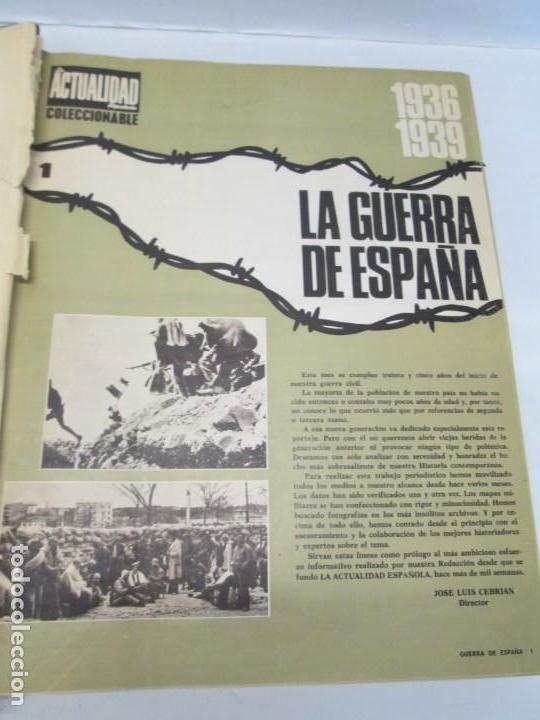 Libros de segunda mano: LA GUERRA DE ESPAÑA 1936 -1939. JOSE LUIS CEBRIAN. COLECCIONABLE 59 FASCILULOS.COMPLETA - Foto 7 - 159275102