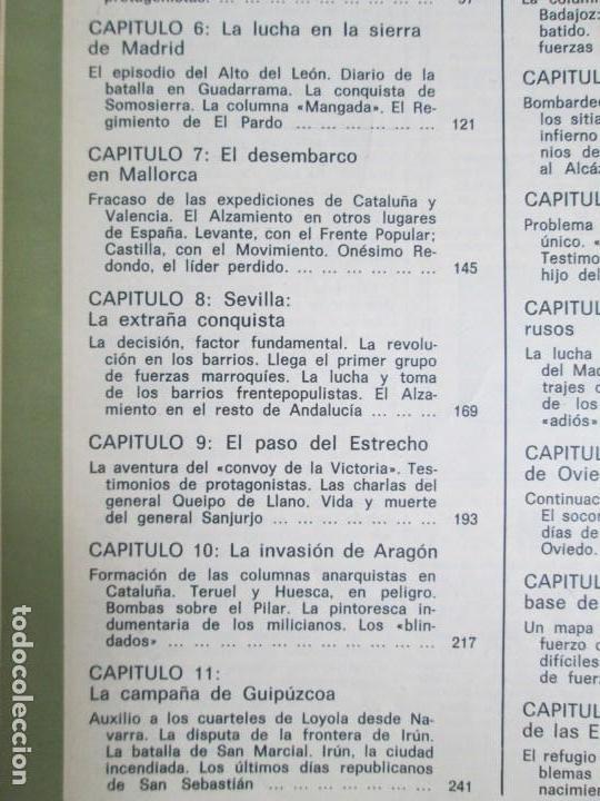 Libros de segunda mano: LA GUERRA DE ESPAÑA 1936 -1939. JOSE LUIS CEBRIAN. COLECCIONABLE 59 FASCILULOS.COMPLETA - Foto 24 - 159275102