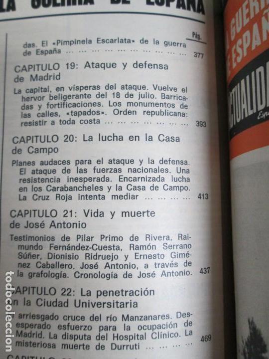 Libros de segunda mano: LA GUERRA DE ESPAÑA 1936 -1939. JOSE LUIS CEBRIAN. COLECCIONABLE 59 FASCILULOS.COMPLETA - Foto 26 - 159275102