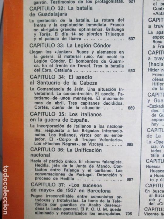 Libros de segunda mano: LA GUERRA DE ESPAÑA 1936 -1939. JOSE LUIS CEBRIAN. COLECCIONABLE 59 FASCILULOS.COMPLETA - Foto 30 - 159275102
