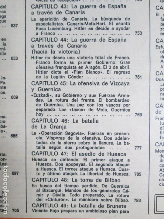 Libros de segunda mano: LA GUERRA DE ESPAÑA 1936 -1939. JOSE LUIS CEBRIAN. COLECCIONABLE 59 FASCILULOS.COMPLETA - Foto 32 - 159275102
