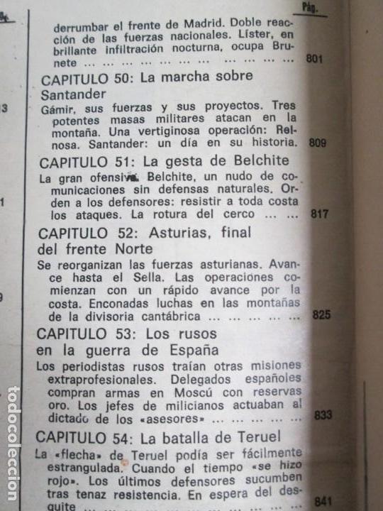 Libros de segunda mano: LA GUERRA DE ESPAÑA 1936 -1939. JOSE LUIS CEBRIAN. COLECCIONABLE 59 FASCILULOS.COMPLETA - Foto 33 - 159275102