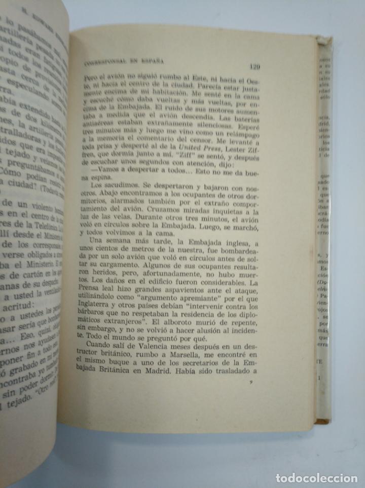 Libros de segunda mano: CORRESPONSAL EN ESPAÑA. EDWARD KNOBLAUGH - TDKLT - Foto 2 - 159613778