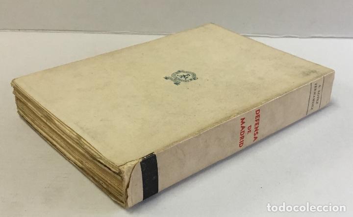 Libros de segunda mano: DEFENSA DE MADRID. Relato histórico. - LÓPEZ FERNÁNDEZ, Antonio. - Foto 5 - 160383462