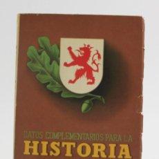 Libros de segunda mano: DATOS COMPLENTARIOS PARA LA HISTORIA DE ESPAÑA, GUERRA DE LIBERACIÓN, 1936 - 1939, 1945, MADRID.. Lote 163019782