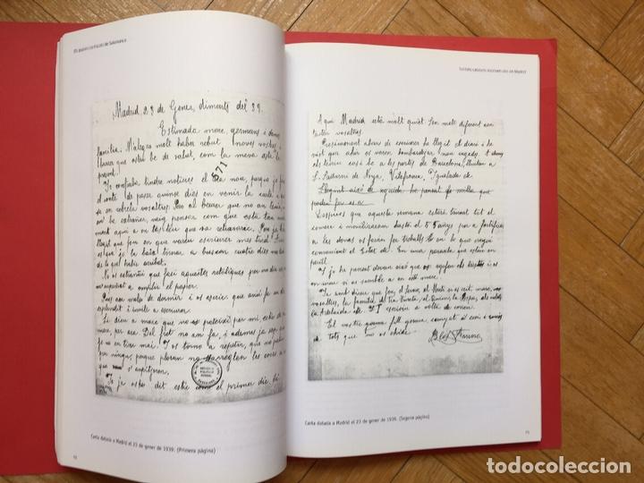 Libros de segunda mano: ELS PAPERS CONFISCATS DE SALAMANCA (El Periódico, 2006) ¡ORIGINAL! - Foto 6 - 163977542